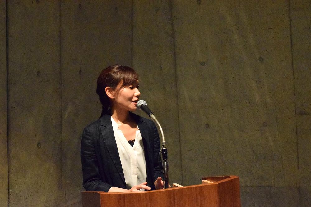 アーツマネジメント講座の事務局を担当する大井さんから、登壇者が発表する内容に関して質問が挙がった